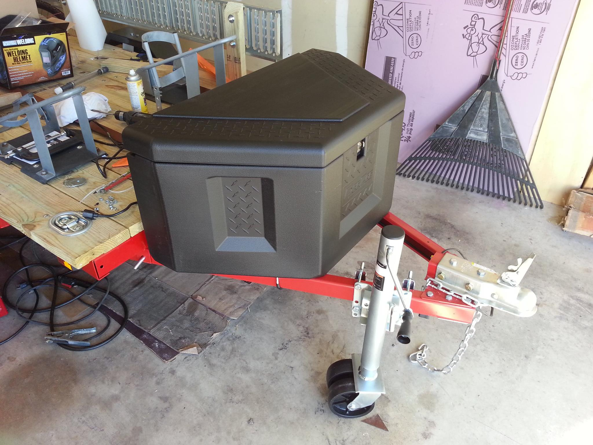 My harbor freight 4x8 utility trailer build out zx6r forum publicscrutiny Choice Image